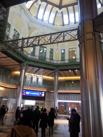 Tokyo Station is the main intercity rail terminal in Tokyo. It is the busiest station in Japan in terms of number of trains per day (over 3,000). This place puts every other train station to shame that we have visited (by volume of people), New York, Washington, Chicago, you name them, no other train station has the sheer number of people moving through them like Tokyo Station does each day.